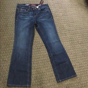 Tommy Hilger modern rise boot cut jeans size 6A